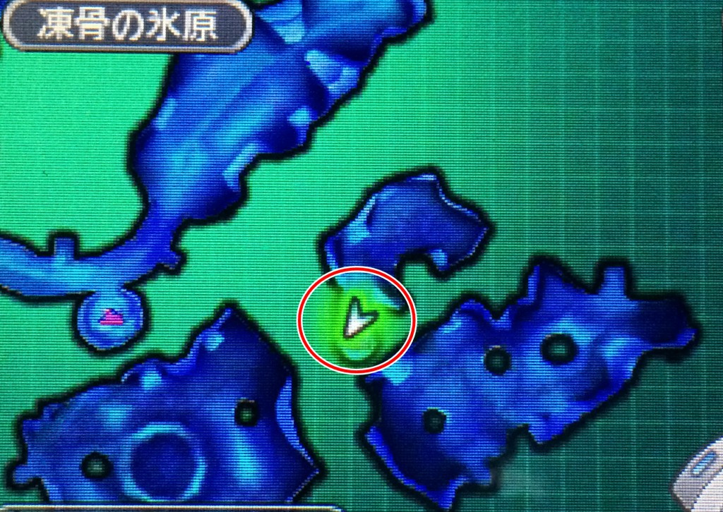 DQMJ3 ブルー地図海