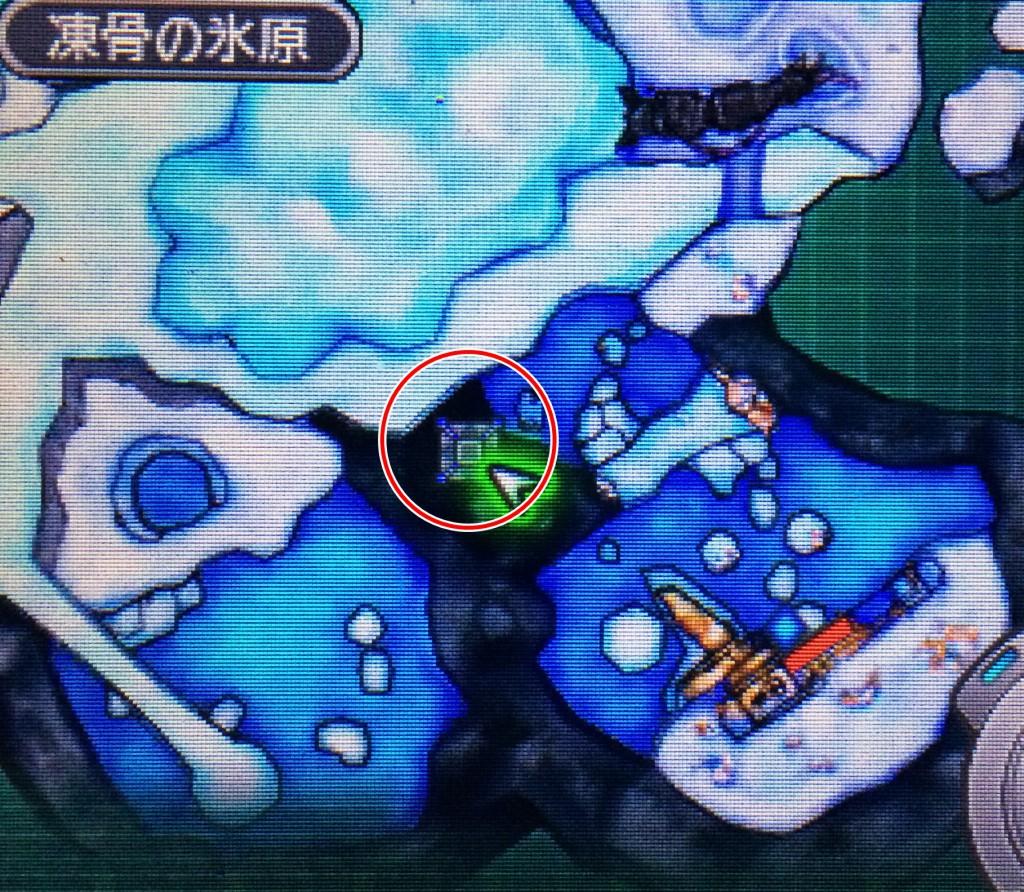DQMJ3 ブルー地図
