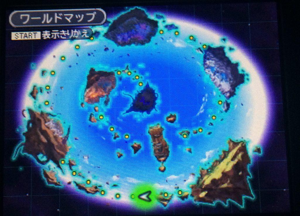DQMJ3 ワールドマップ