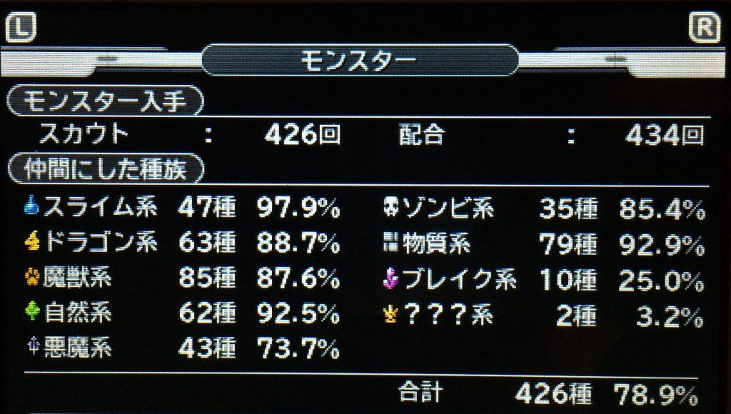 DQMJ3 モンスター図鑑