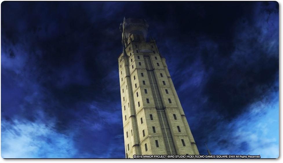 DQH2 伝承の塔