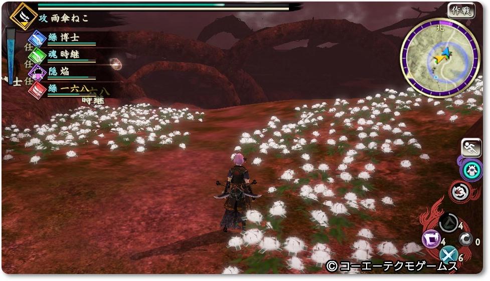 討鬼伝2 お花
