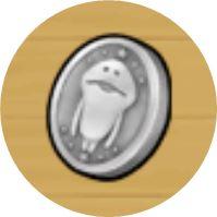 なめこの巣なめコイン銀