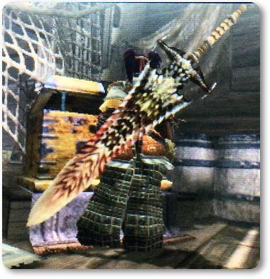 MHXXラオシャンロン体剣