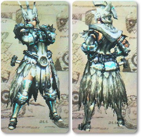 mhxxセレネXシリーズ剣士