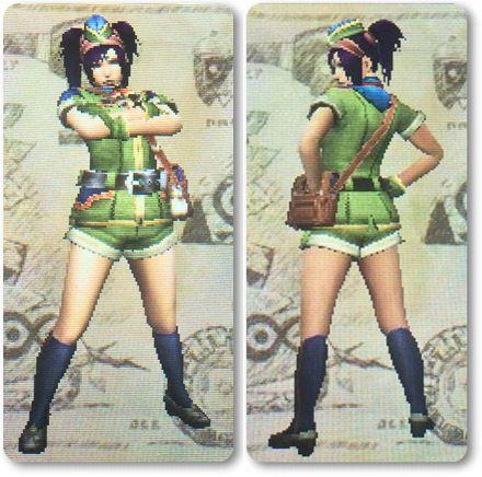 mhxxチアフルXシリーズ剣士