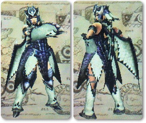 mhxxエスカドラXRシリーズ剣士