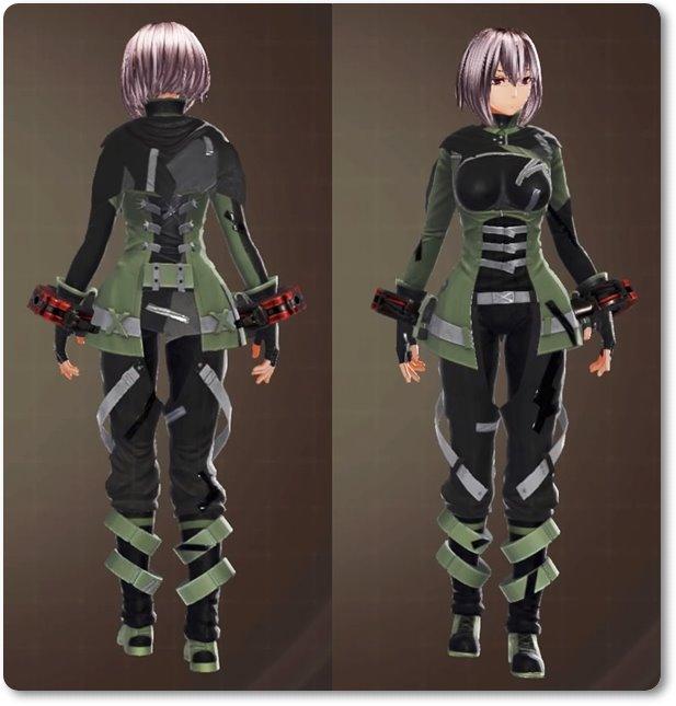 ge3F制式兵装(特装)・緑
