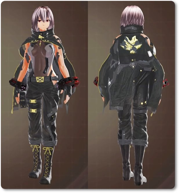 ge3F製支給戦闘服・黒