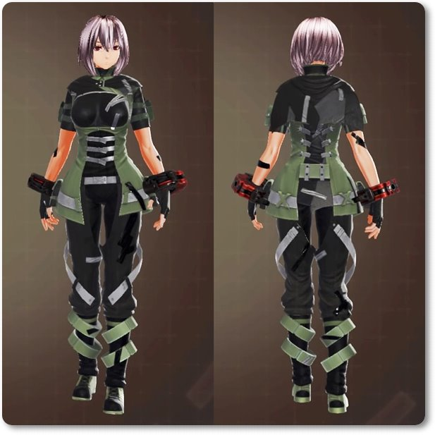 ge3F制式兵装(装飾)・緑