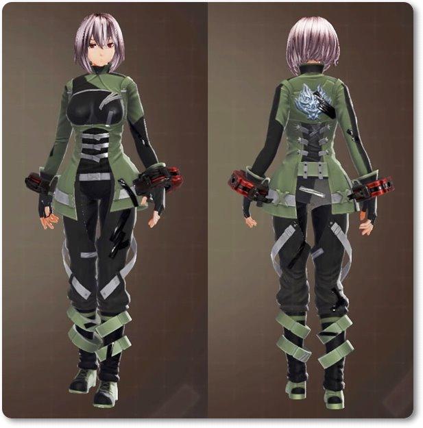 ge3F制式兵装・緑