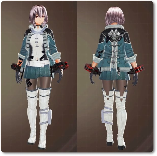 ge3F制式士官服(装飾)