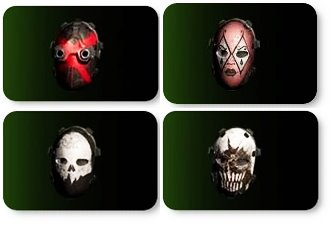 ディビジョン2マスク4個セット