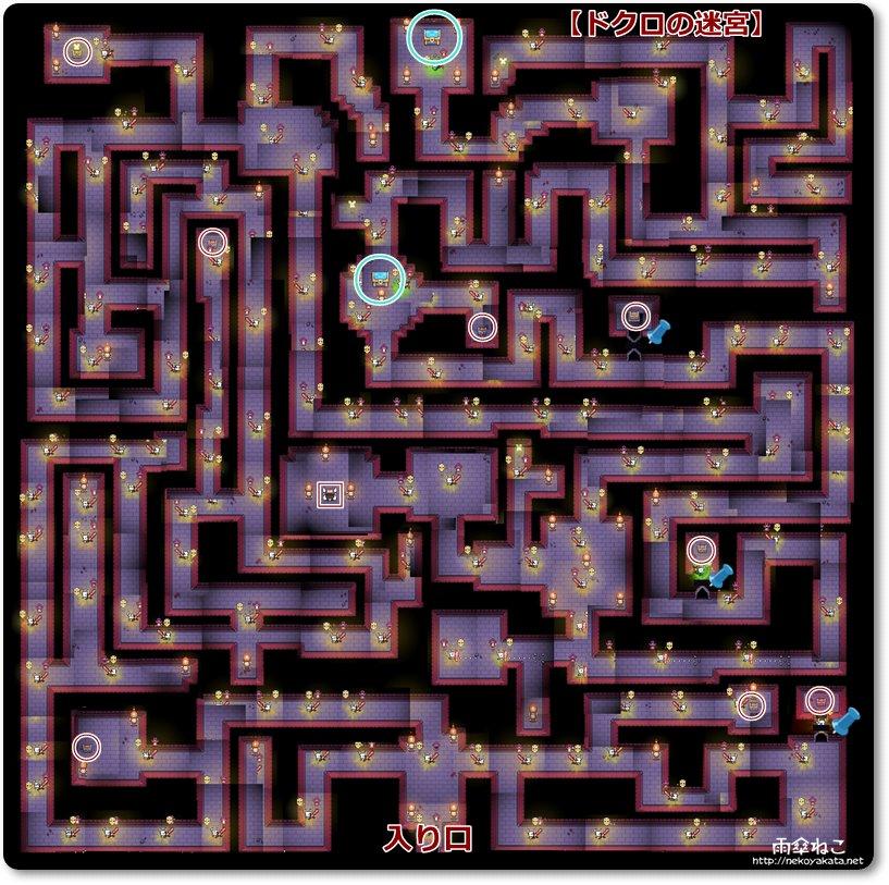 ドクロの迷宮地図フォレジャー