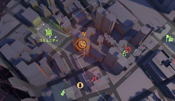 division2クビにはできない地図