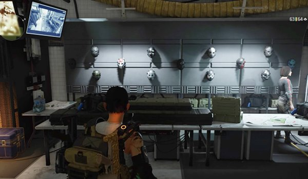 division2マスク全部