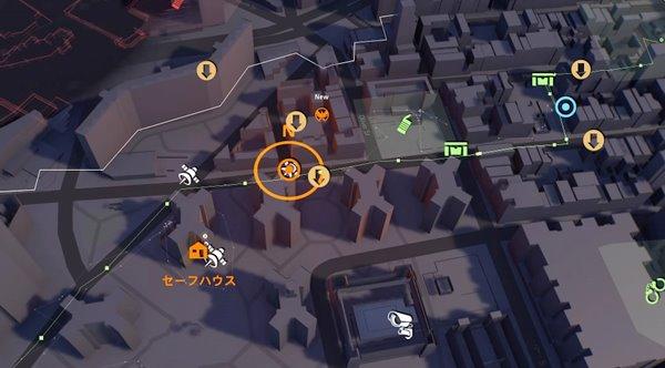 division2生存者の後ろめたさ地図