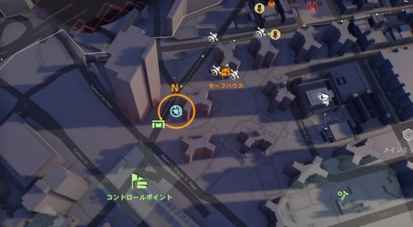 division2ワイルドカード地図