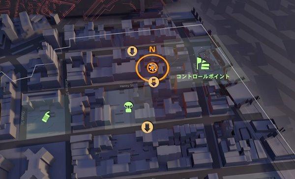 division2ダークゾーンで地図