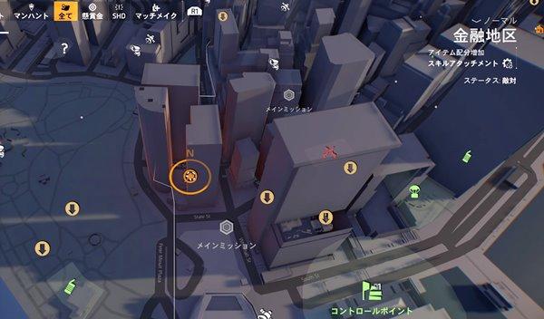 division2倒れた兵士地図