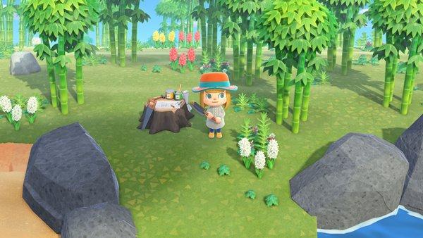 竹の島あつ森