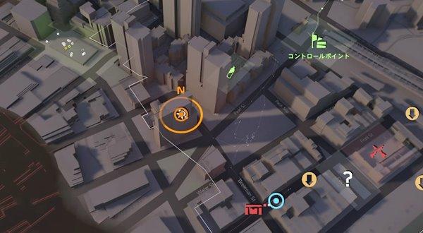 division2ライカーズの襲撃地図
