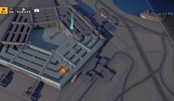division2カフェテリアブルース地図