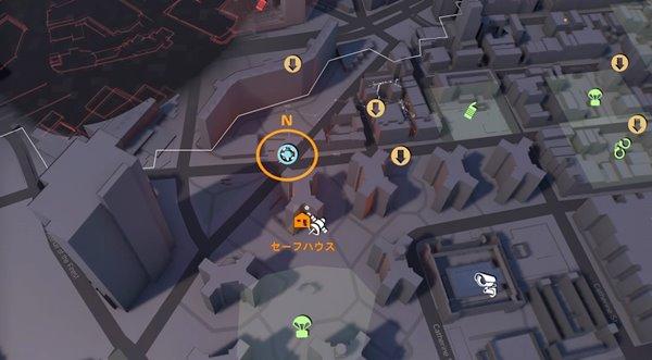 division2最後の儀式地図