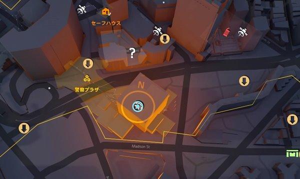 メッセージdivision2地図