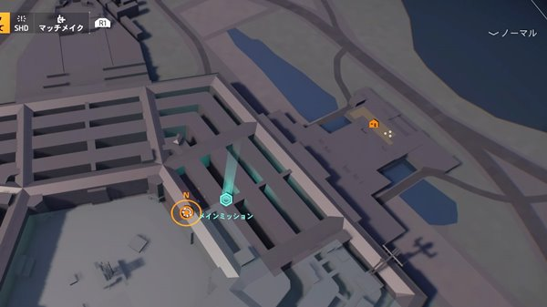 division2初めての埋葬地図