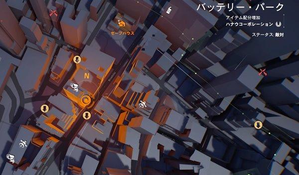 division2カジカの精神鑑定地図