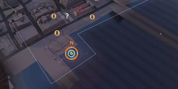 division2トゥーブリッジズSHDキャッシュ02地図