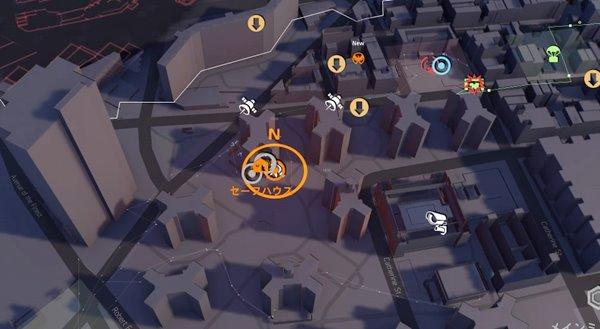 division2捕虜の尋問地図