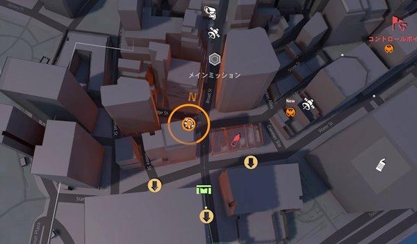 証明された力division2地図