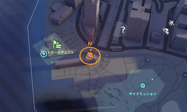 division2嵐の備え地図
