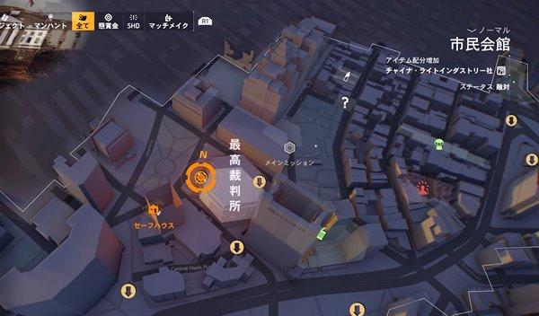 division2申し立て地図
