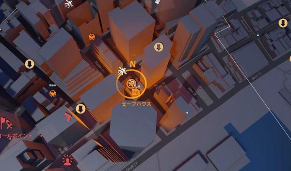 任務を離れてdivision2地図