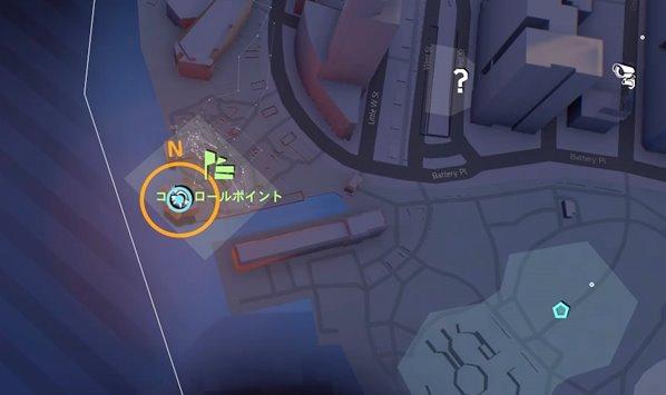 division2嵐の兆し地図