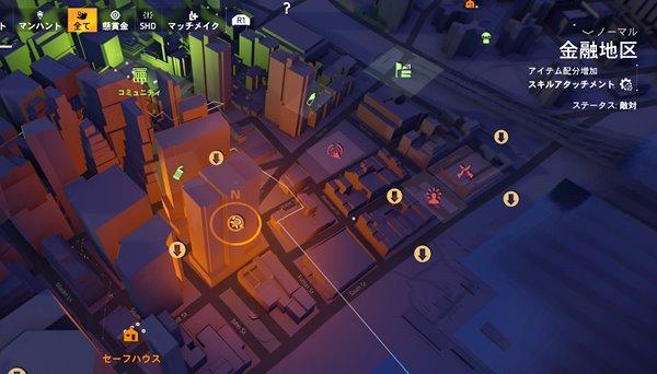 division2ウォール街地図