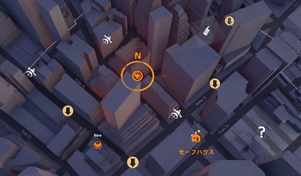 division2SHDテックキャッシュ金融地区02地図