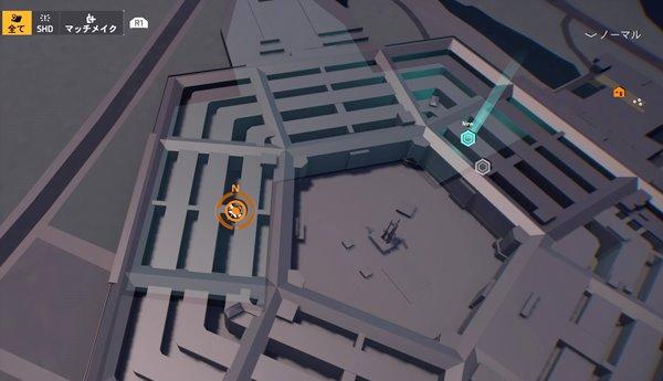 division2フェニックスプロジェクト地図
