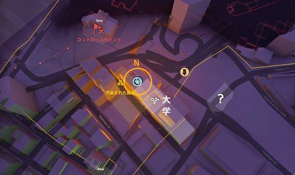 偵察division2地図