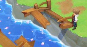橋修復牧場物語オリーブ