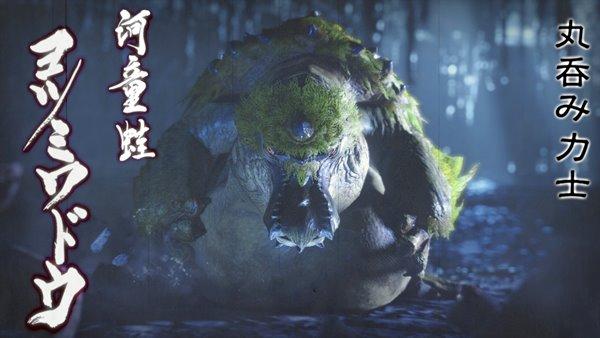 河童蛙 ヨツミワドウ写真mhr