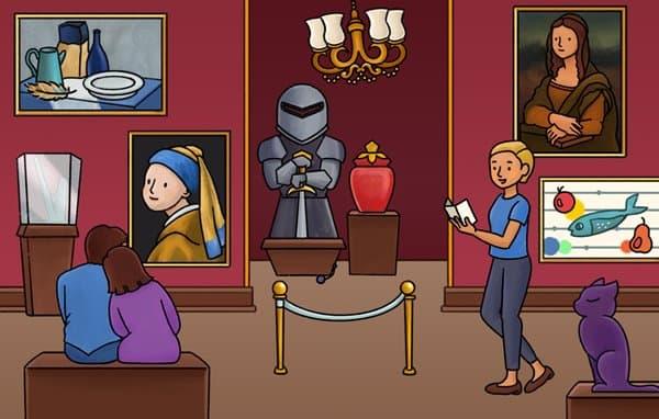 美術館のねこにゃん探偵ミオ