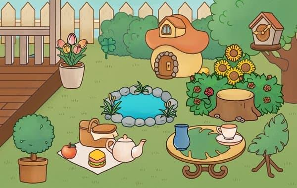 小さな庭園にゃん探偵