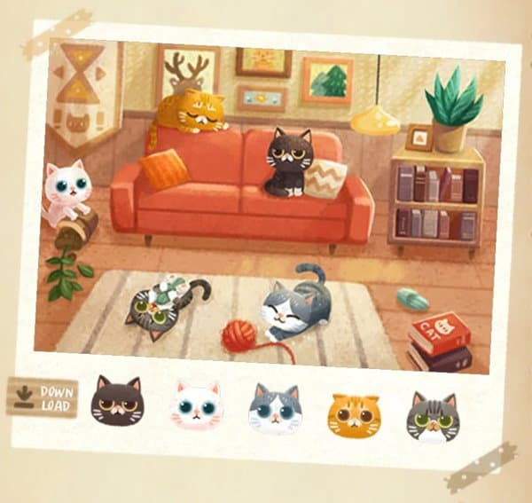 スペシャルアルバム家猫と秘密の森