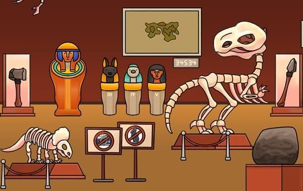 博物館の恐竜にゃん探偵ミオ